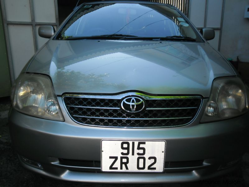 Pre-owned Toyota NZE for sale in Mauritius