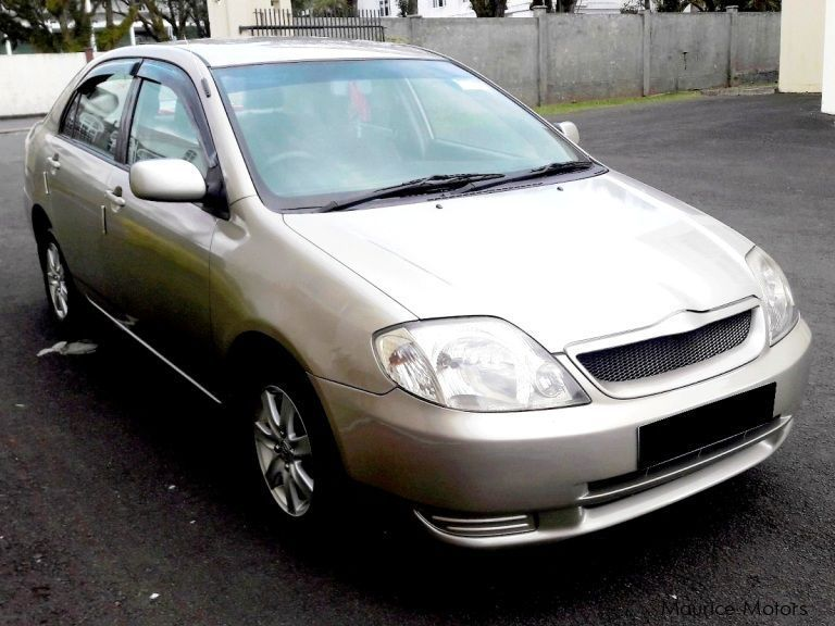 Pre-owned Toyota NZE Corolla LX for sale in Mauritius