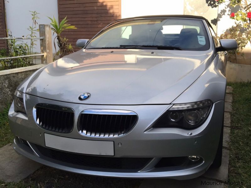 Used BMW 630i for sale in Mauritius