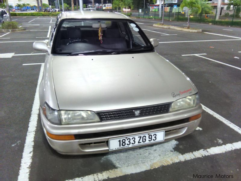 Pre-owned Toyota corolla ee101 for sale in Mauritius