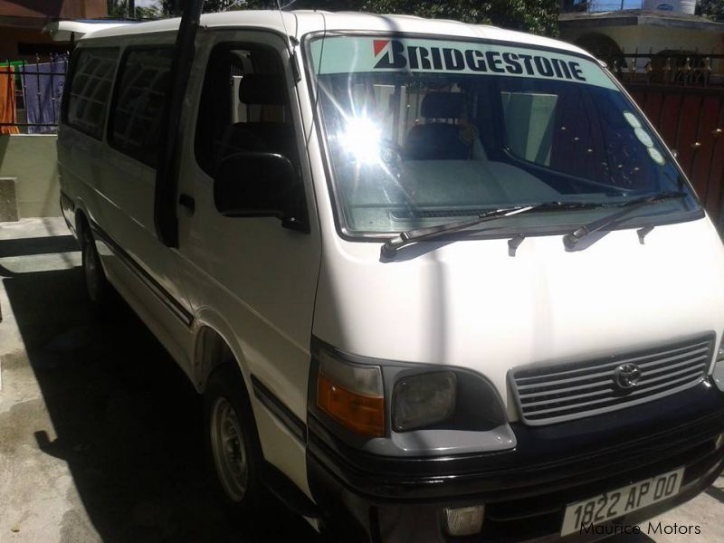 Used Toyota toyota hiace for sale in Mauritius