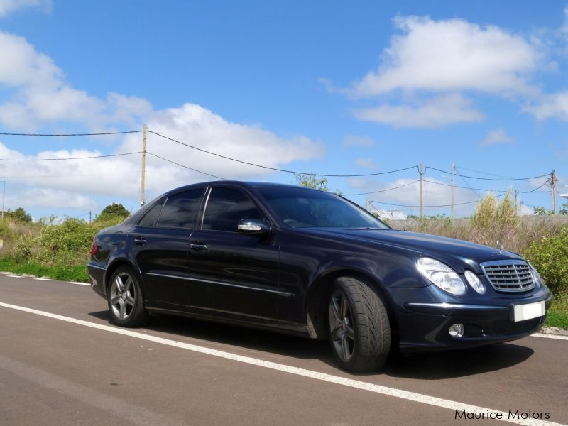 Used Mercedes-Benz E-Class E270 for sale in Mauritius