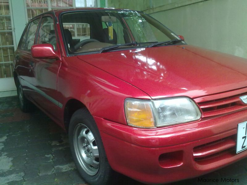 Used Toyota Starlet for sale in Mauritius