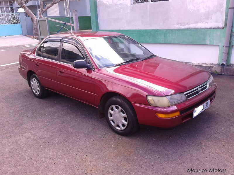 Pre-owned Toyota Corolla EE100 GL for sale in Mauritius