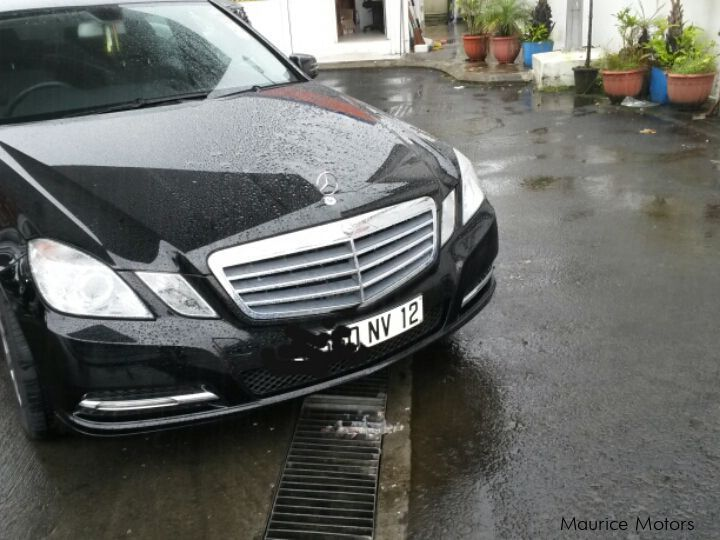 Used Mercedes-Benz E 200 in Mauritius