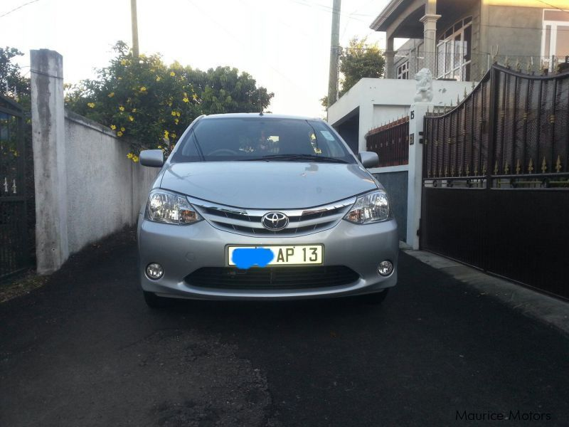 Pre-owned Toyota etios for sale in Mauritius