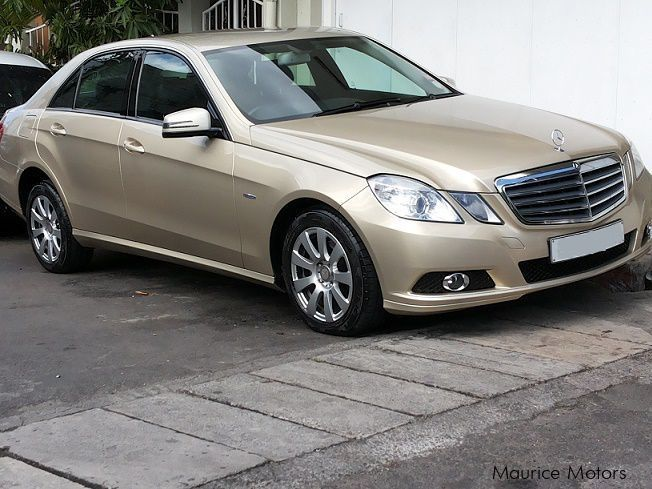 Used Mercedes-Benz E200 in Mauritius