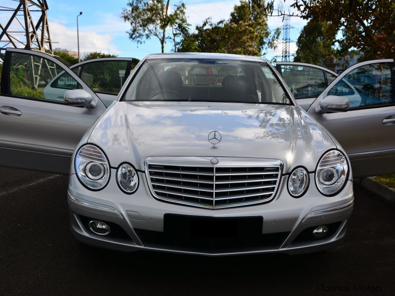 Used Mercedes-Benz E Class facelift for sale in Mauritius