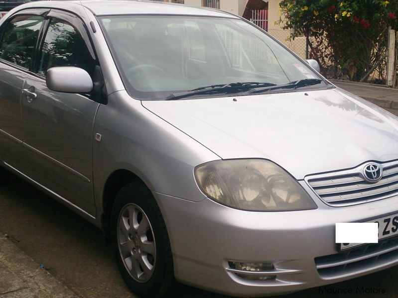 Pre-owned Toyota Corolla NZE for sale in Mauritius