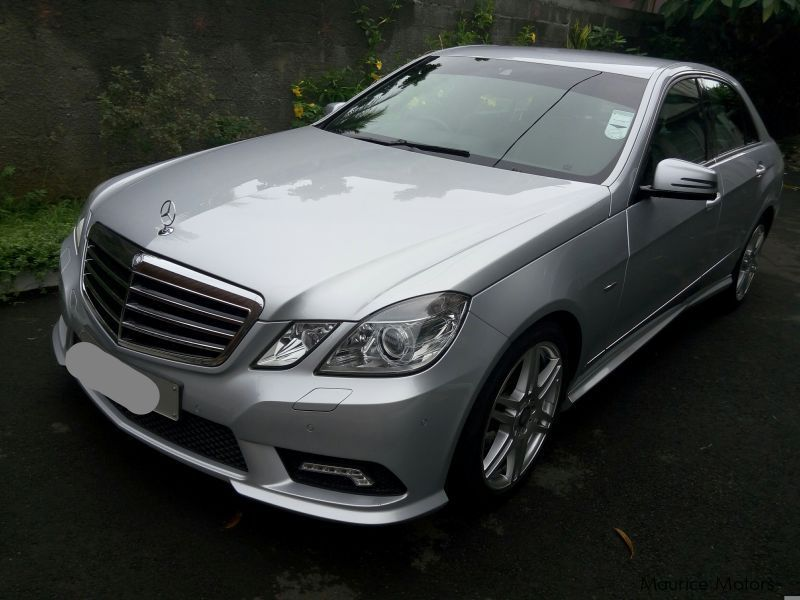 Pre-owned Mercedes-Benz E Class E250    AMG sport for sale in Mauritius