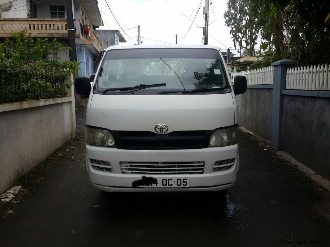 Used Toyota toyota hiace for sale in