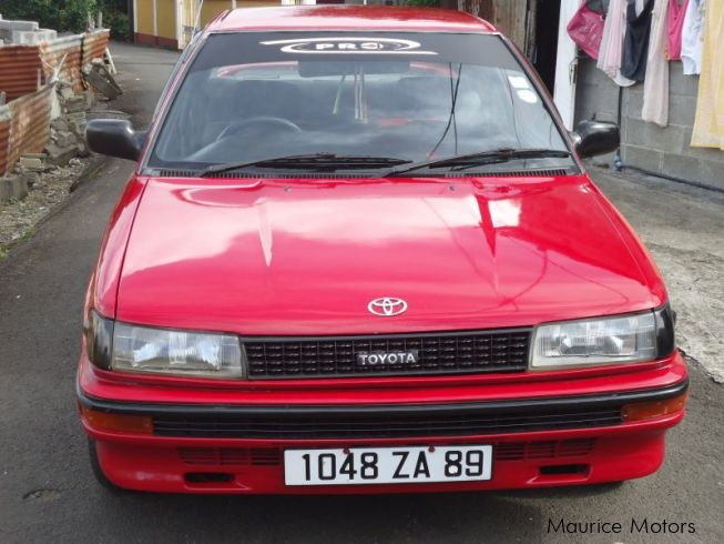 Toyota ee90 in Mauritius