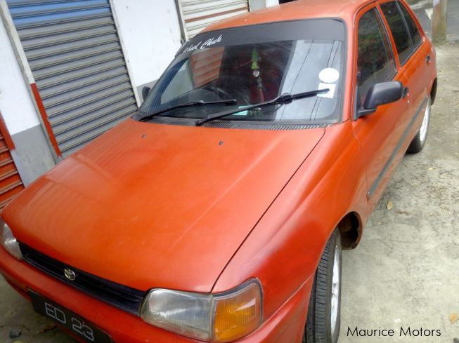 Toyota starlet in Mauritius