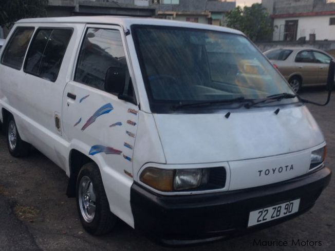 Toyota townace in Mauritius