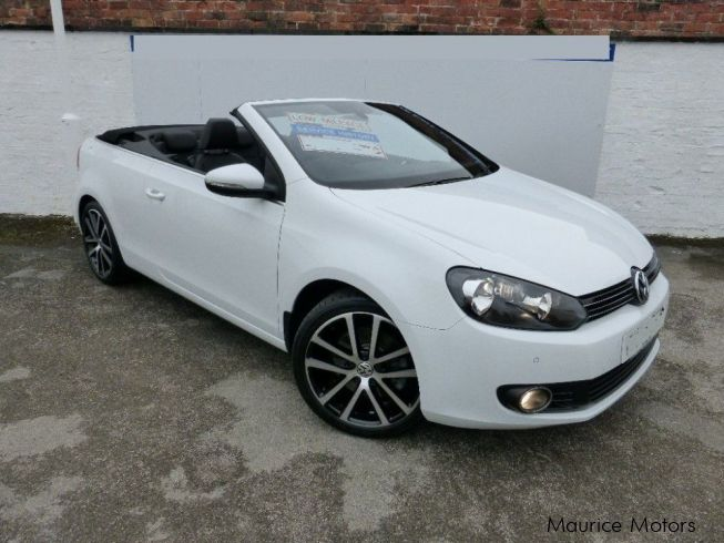 Volkswagen Golf Convertible GT Edition in Mauritius