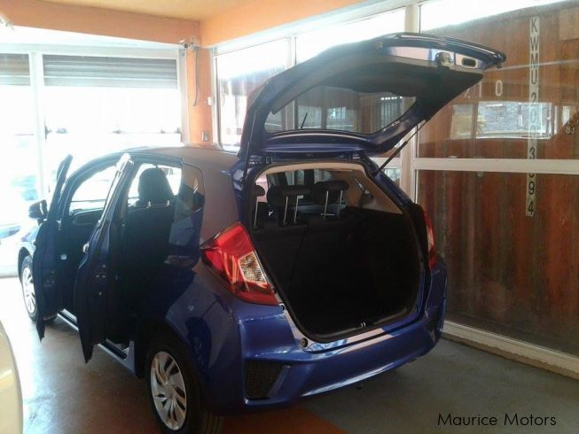 Honda FIT - F_PACKAGE - BLUE METALLIC in Mauritius